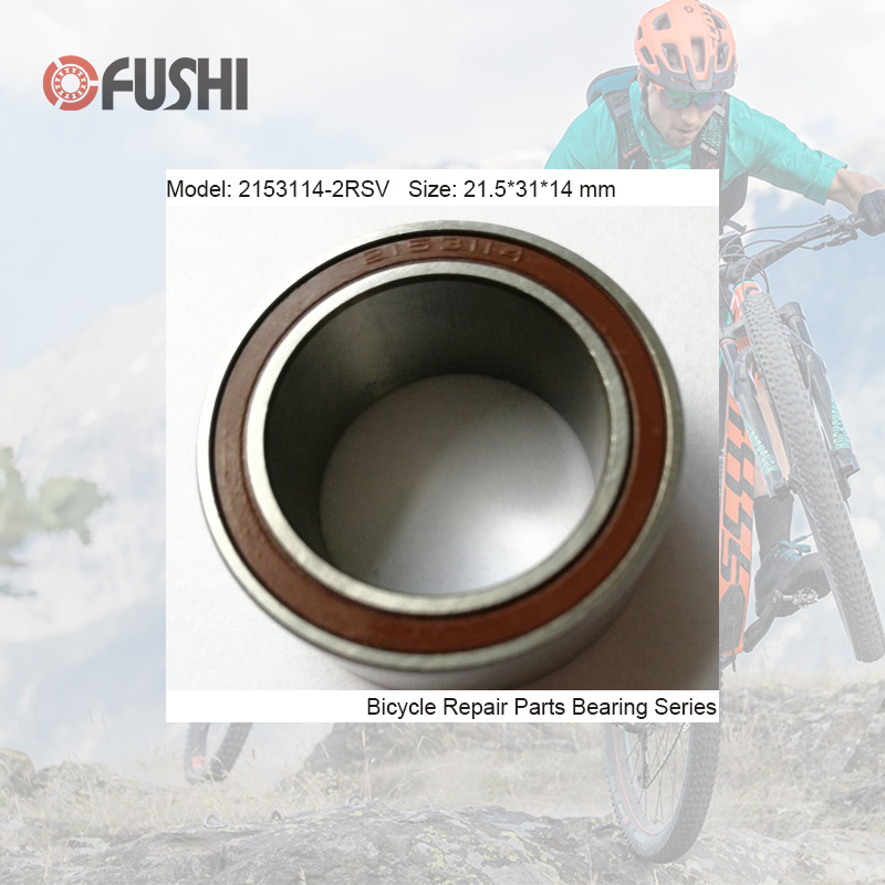 2153114-2RSV MAX Bearing 21.5*31*14mm ( 1 PC) Double Row Full Balls Bike Bottom Bracket Frame Repair Parts 2153114 Ball Bearings2153114-2RSV MAX Bearing 21.5*31*14mm ( 1 PC) Double Row Full Balls Bike Bottom Bracket Frame Repair Parts 2153114 Ball Bearings