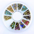 Blueness Mixed Glitter Adhesive New Arrive Nail Art Decorations Crystal Colorful Rhinestones for Nail Design ZP191