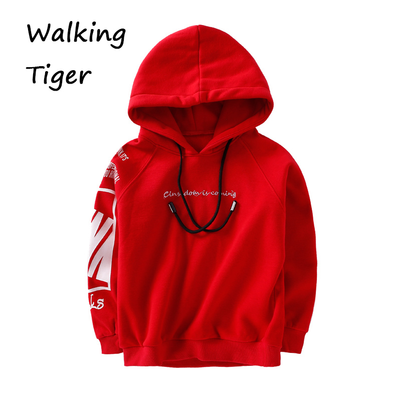 Children Hoodies boys fashion tops Sweatshirts kids clothing villi autumn 2017 new boy sport sweater