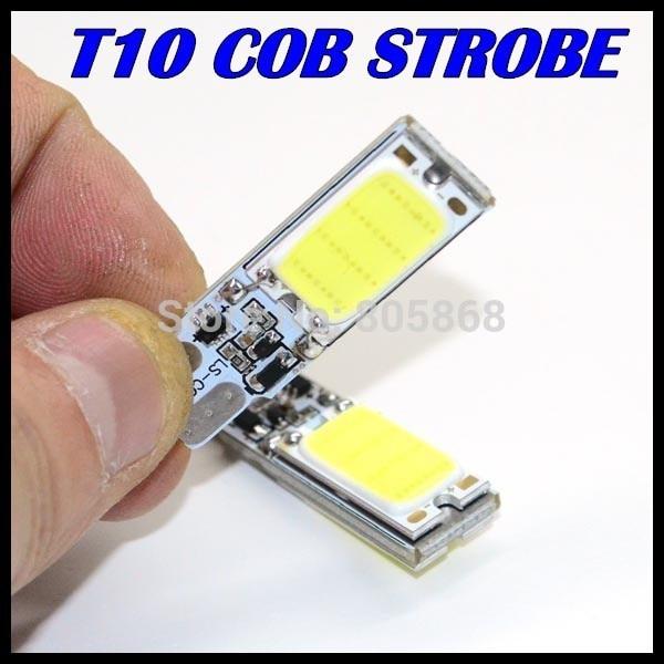T10 Car Led Strobe Flash Flashing Lamp