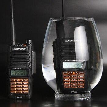 ¡Producto en oferta! uv-9r baofeng Ip67 resistente al agua, doble banda, uhf vhf de 8w, radio bidireccional, walkie talkie a prueba de agua