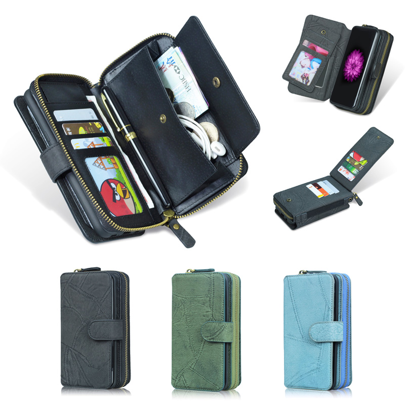 For LG G6 Case MEGSHI Genuine Luxury 2 in 1 Detachable PU Leather Flip Wallet Case For LG G5 Case G7 G8 Cover Lanyard Phone Case