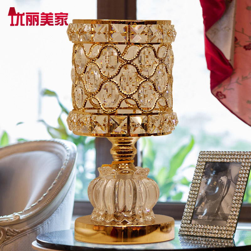TUDA 2017 now indoor lighting table lamps European style lamp bedroom bedside lamp wedding room simple warm modern study lamps tuda glass shell table lamps creative fashion simple desk lamp hotel room living room study bedroom bedside lamp indoor lighting