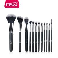 MSQ Professional 12pcs Makeup Brush Set High Quality Powder Foundation Eye Shader Make Up Tools For