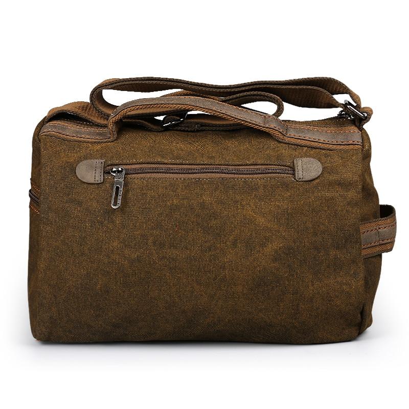 Bolso de viaje Ruil para hombre, bolso de lona Retro plegable, bolso de hombro, bolsos de ocio impermeables portátiles para mujer-in Bolsas de viaje from Maletas y bolsas    3
