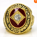 Drop ShippingReplica 1964 Cleveland Browns Jim Brown Championship Ring Sports Jewelry Size Big  11 Men Sports Jewelry