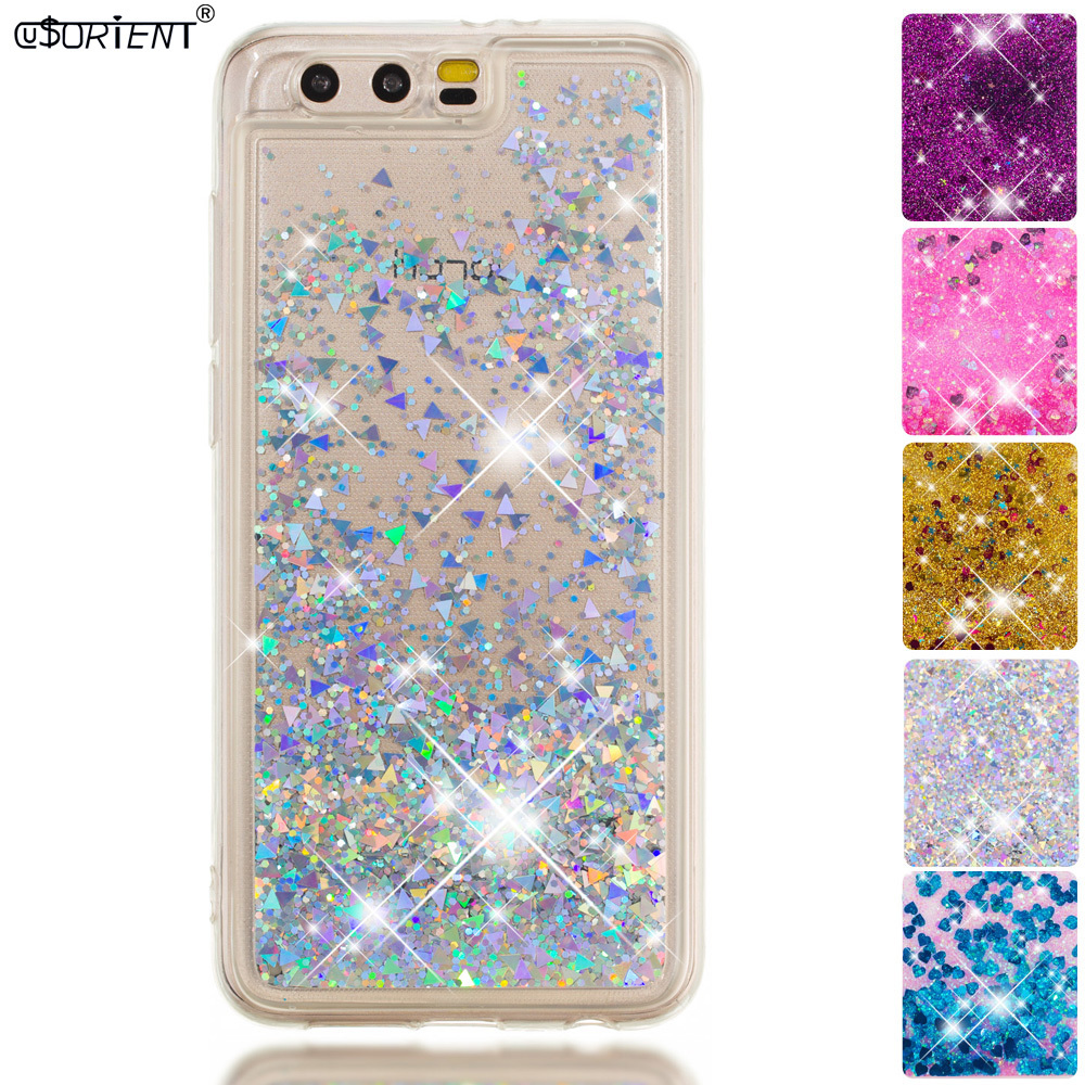 Provided Glitter Liquid Case For Huawei Honor 9 Stf-l09s Dynamic Quicksand Fitted Cases Huawei Honor9 Stf-l09 Stf-al00 Phone Cover Funda Half-wrapped Case Cellphones & Telecommunications