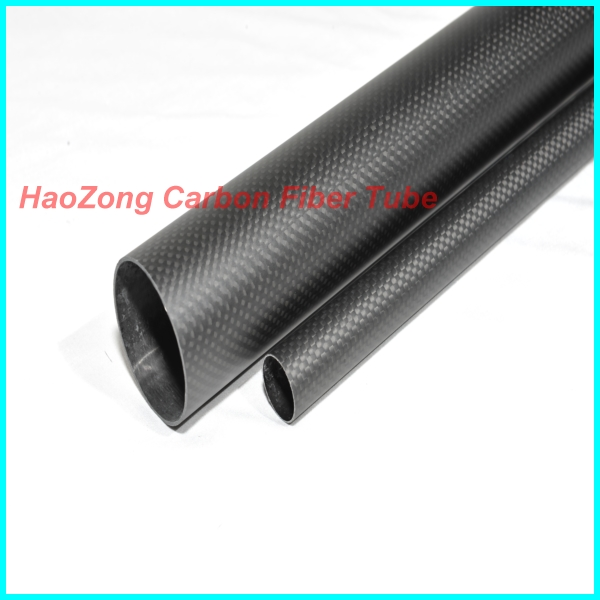 1-119MM OD x 15MM ID 500MM 3k Carbon Fiber tube/Tubing/pipe, wing tube with 3k100% full carbon Quadcopter Model DIY 19*15