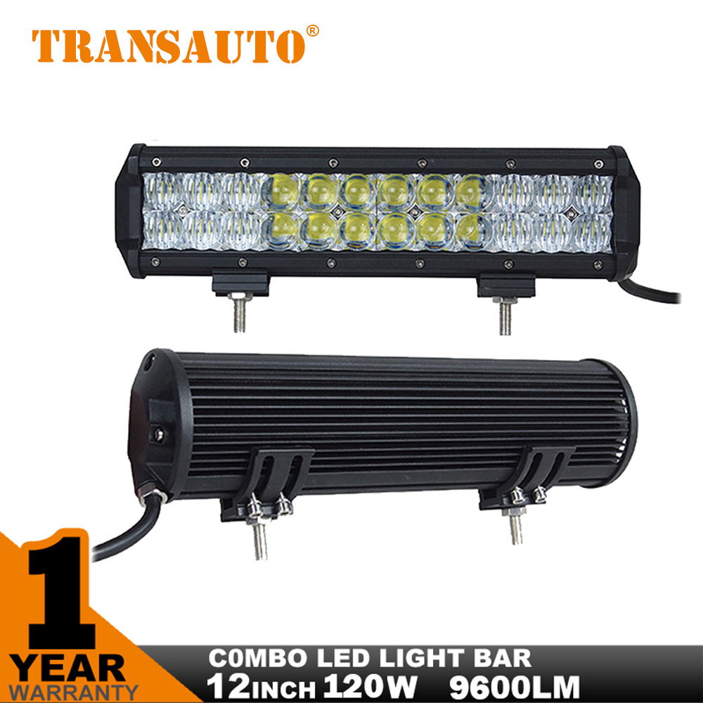 12 inch 120w led light bar 5d flood spot combo 12v 24v led off road light bar car for jeep. Black Bedroom Furniture Sets. Home Design Ideas