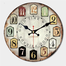 Decorative Colorful Wall Clock