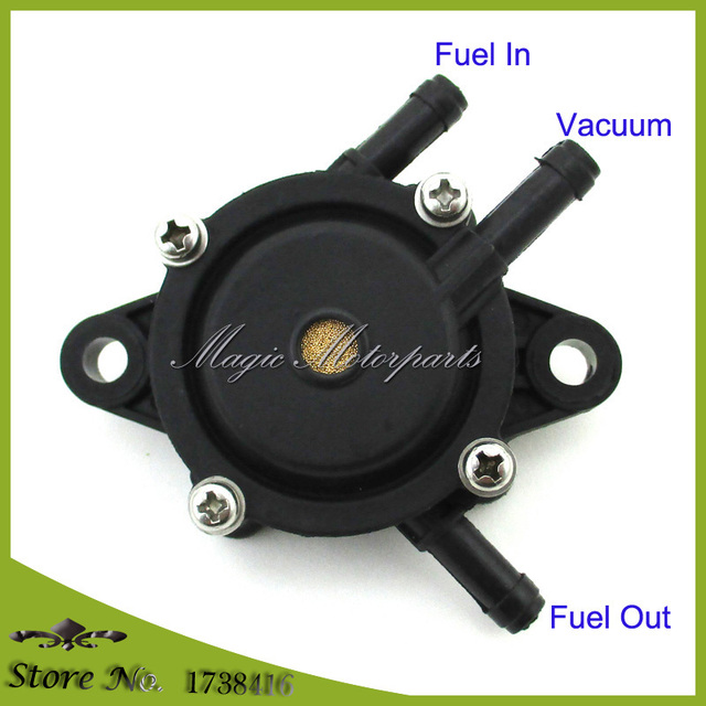 Black Fuel Pump For Kohler 24 393 04 S 16 Small Engine Lawn