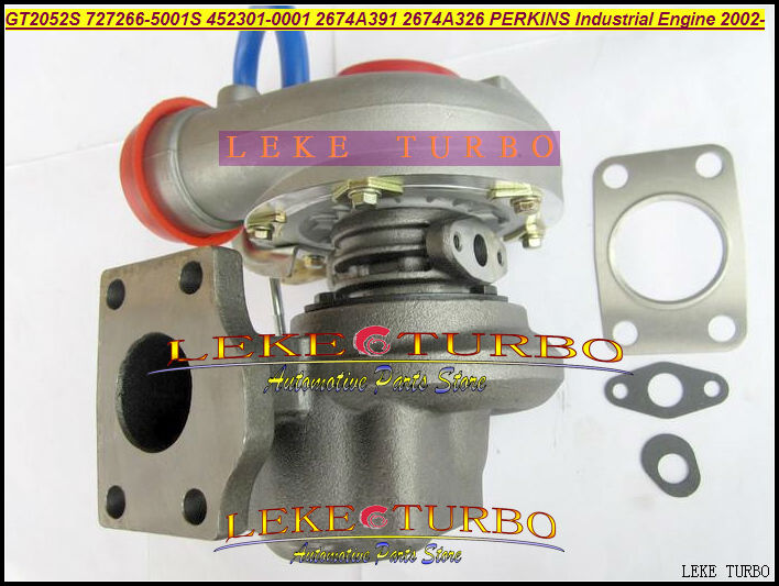 GT2052S 727266-5001S 452301-0001 2674A391 2674A326 727266 452301 Turbo Turbocharger For Perkin Industrial Engine T4.40 4.0L 02-