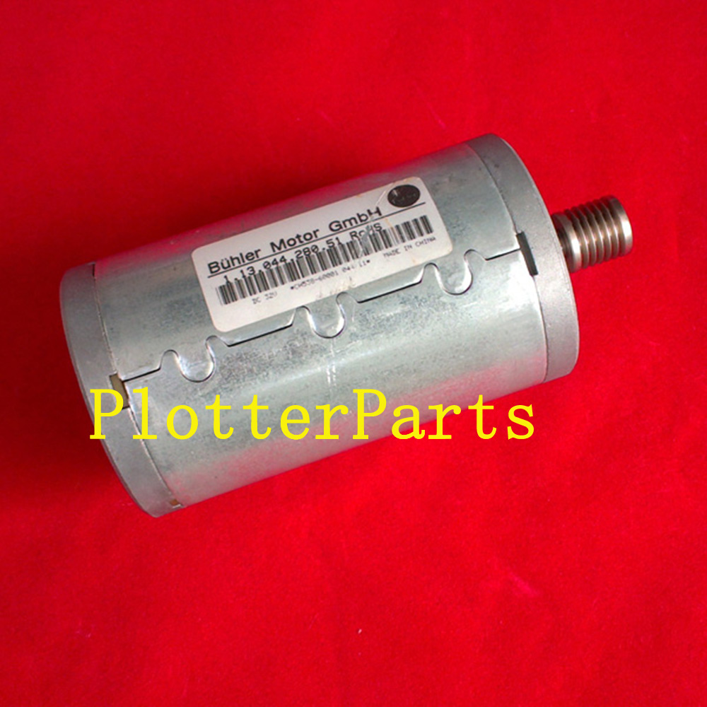 CH538-67076 Scan-axis motor for HP DesignJet T770 T790 T1200 T2300 Z5200 111 plotter part Original Used ch538 67018 carriage belt for hp dj t770 t1200 t790 t1300 t2300 z5200 44