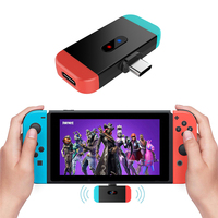 Wireless Bluetooth Audio Transmitter For Nintend Switch Headset USB C to Bluetooth BT 3.0 Audio Converter for PS4 PC Android