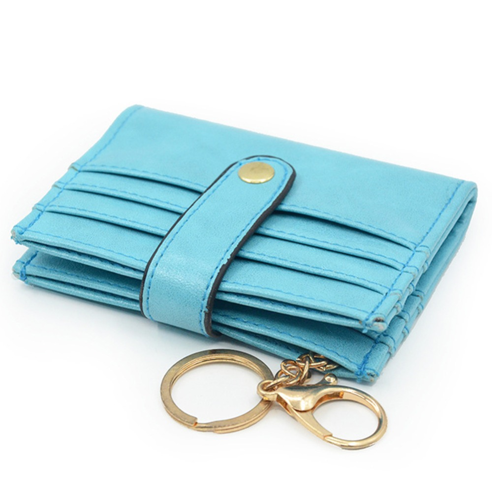Artmi Leather Wallet Womens Rfid Women Wallet Card Holder Small Bifold Leather Ladies Mini Purse with Key Ring
