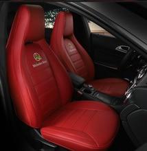 Пользовательские кожаный чехол автокресла для авто Mercedes-Benz gla200 gla260 cla200 cla 220 cla260 180 A200 авто аксессуары Тюнинг автомобилей