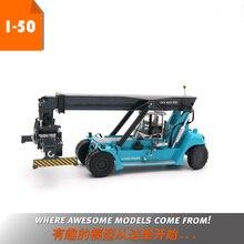 Сплав модель подарок KONE 1:50 контейнер передний кран Инженерная техника машины литья под давлением игрушка модель для коллекции, украшения