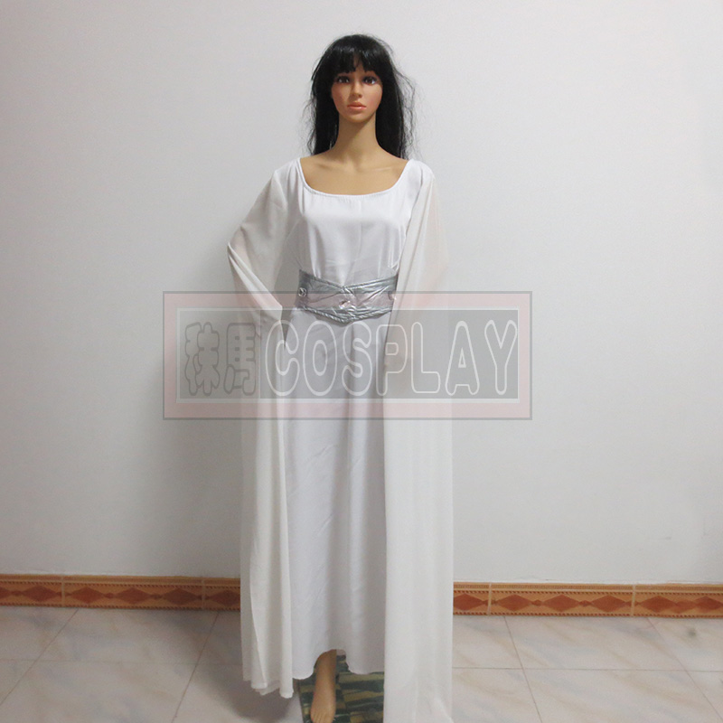 Star Wars Cosplay Hooded Dress Princess Leia Cosplay Costomes