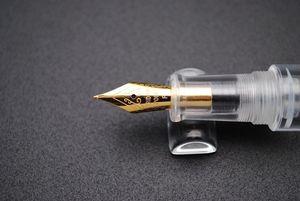 Image 4 - Moonman Wancai Trasparente Mini Pocket Size Contagocce Penna Stilografica Inchiostro Della Penna di Alta Qualità
