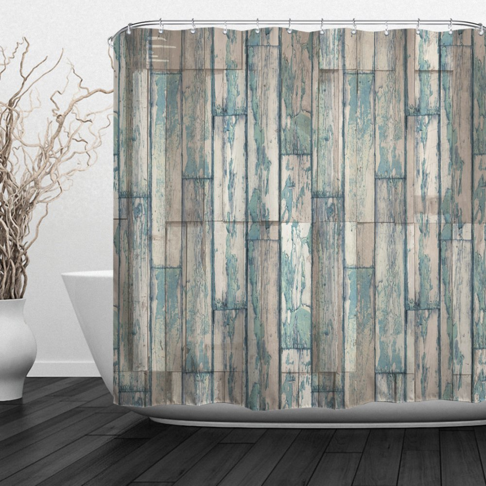 2019 Brick Wall Shower Curtains Vintage Marble Stone Wall Decor Waterproof Fabric Bathroom Decor Set With Hooks Plank From Ptdiy2 19 65 Dhgate Com