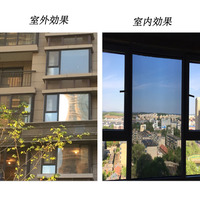 0 9x30m Window Film Silver One Way Film Glass Window Tint Home Interiors Privacy Screen Stickers