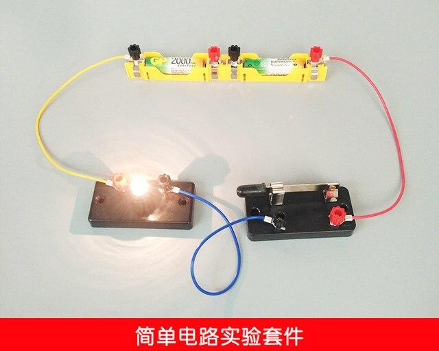 Online Shop Physics Simple Circuit Series Parallel Experiment Set