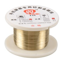 цена на 100m/roll 0.08mm Alloy Molybdenum Cutting Wire Line LCD Display Screen Separator Repair For Smart Phone accessories