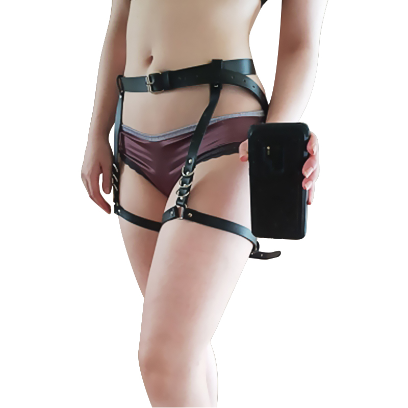 2018 Female Gothic Sword Belt Lingerie Erotic Goth Harness Underwear Punk Belt For Stockings Cosplay Top Women Suspenders Sexy
