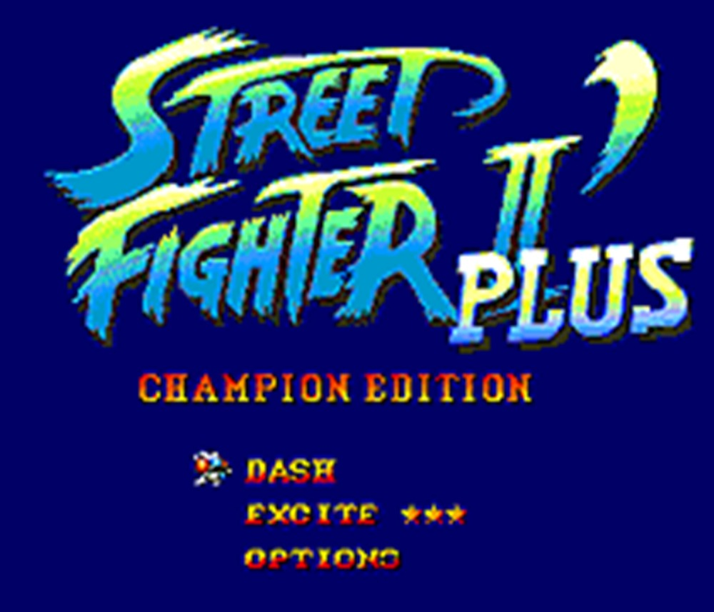 Street Fighter II plus 16 Bit Mega Drive Game Card For Sega Genesis Video Game Console