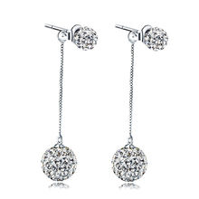 Оптовая продажа посеребренные модные блестящие кристаллы Шамбала