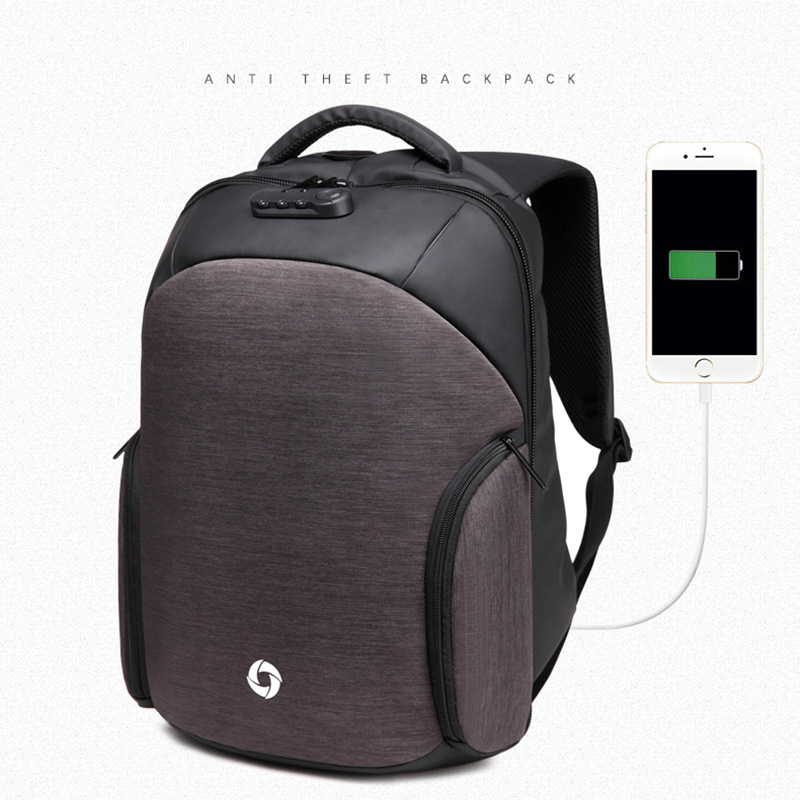DAYGOS Men Anti theft Backpack USB Charging Laptop Backpack Multifunction Business Travel Bagpack women High Quality School bag цена
