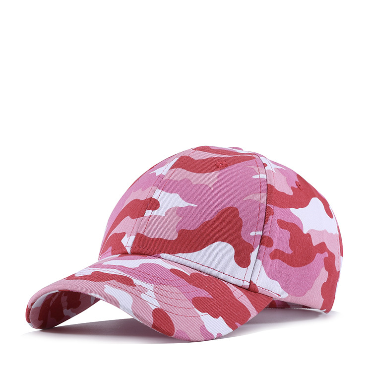 Fashion Cotton Camouflage Baseball Cap Women Lady Camo Hat Pink Purple Bone  Adjustable High Quality-in Baseball Caps from Apparel Accessories on ... e59f0cdd0c54