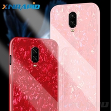 For oneplus 7 pro 6T 6 luxury original case phone back cover pearl glass marble shell