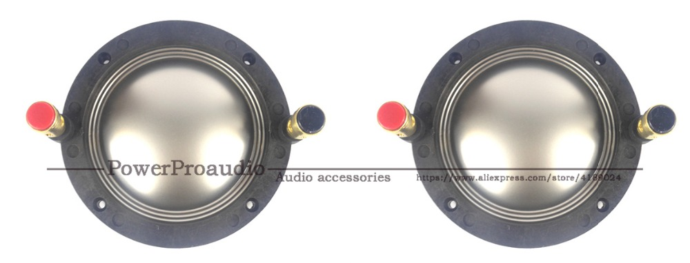 2pcs Diaphragm for P Audio SD 750N   8 Ohm Aluminium Flat Wire-in Speaker Accessories from Consumer Electronics    1