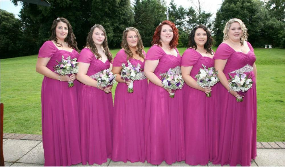 Pink Dress Bridesmaid Promotion-Shop for Promotional Pink Dress ...