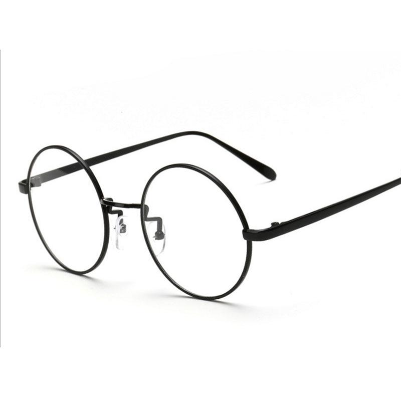 256771bda72 Harry Potter Glasses Frames Round Glasses Men Gold Rimmed Glasses Silicone  Nose Pads For Eyeglasses Frames Women Nerd Glasses
