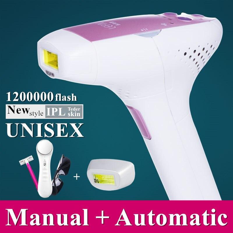1200000 flash IPL font b laser b font hair removal machine font b laser b font