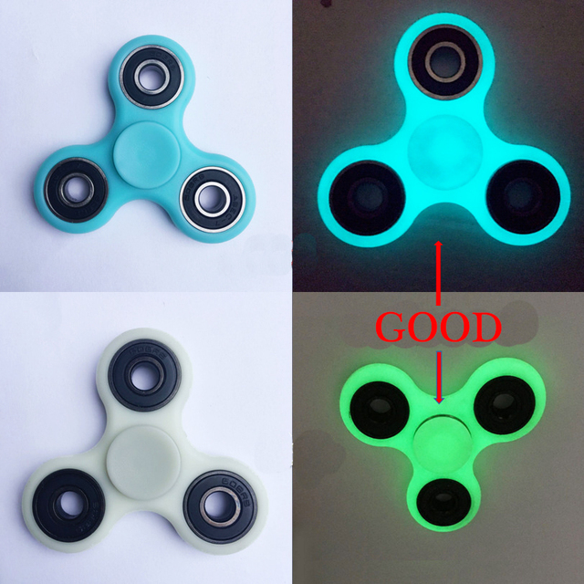 9 Colors Tri Spinner Plastic EDC Hand For Autism And ADHD Fidget Long
