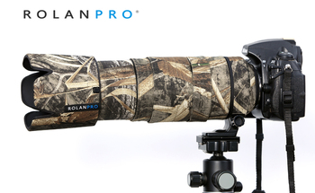 ROLANPRO Nylon Waterproof Lens Coat Rain Cover for Nikon AF-S 80-400mm f/4.5-5.6 G ED VR Lens Protective Case Protection Sleeve