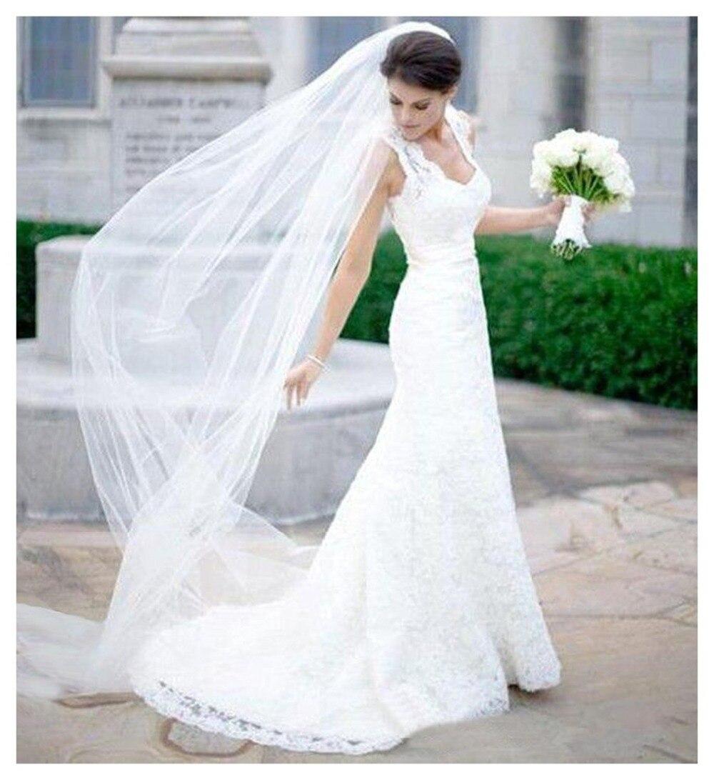 Online Get Cheap Tier Wedding Veils Aliexpress Com Alibaba Group