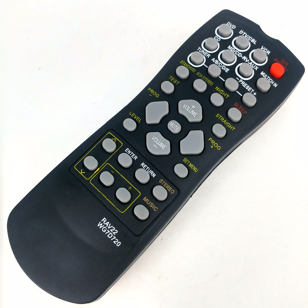 NEW remote control For YAMAHA home theater CD DVD RX-V350 RX-V357 htr5830 RX-v359 universal remote control suitable for yamaha rav22 wg70720 home theater amplifier cd dvd rx v350 rx v357 rx v359 htr5830