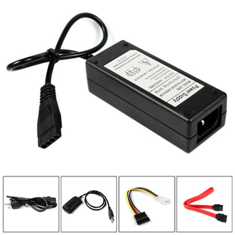 USB 2.0 į IDE SATA S-ATA 2.5 3.5 Kietasis diskas HD HDD konverterio adapteris Naujas MOSUNX ateities skaitmeninis karšto pardavimo F35