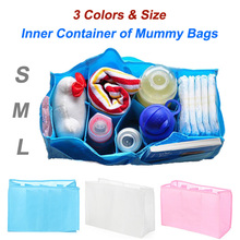 Big Baby Diaper Nappy Organizer Changing Storage Bags Inner Separate Containers,Maternity Handbag Mummy Multifunctional Bag