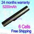 JIGU Free shipping Laptop battery for Asus K52 K52J K52JB K52JC K52JE K52JK K52JR K52N K52D K52DE K52F K62 K62F K62J K62JR N82