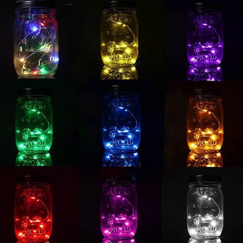 lighting jar. Waterproof Glass Jar Led Cooper String Light,L40cm Fairy Strings Light Bottle Pot Lights For Christmas, Garden Decorations-in LED From Lighting