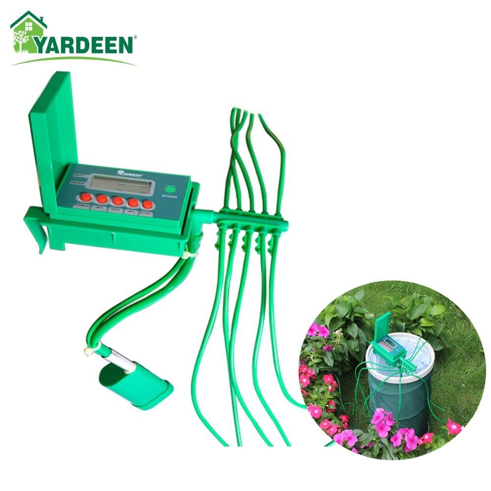 Accueil Intérieur Automatique Smart Irrigation Goutte À Goutte Arrosage Kits Jardin Arrosage Système Plantes, fleurs Petite Pompe Contrôleur