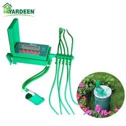 Casa indoor automático inteligente kits de irrigação por gotejamento sistema rega do jardim plantas, flores controlador pequena bomba