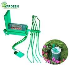 Kit de irrigação por gotejamento inteligente, casa, interior, automático, sistema de irrigação de jardim, plantas, controlador pequeno de bomba