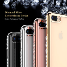 FLOVEME brokat miękkie etui na iPhone 7 iPhone 8 6 6s plus Plated etui na telefon etui na iphone #8217 a 7 X 5 S 5 SE Rhinestone dziewczęca okładka Funda tanie tanio Iphone SE Iphone 5 IPHONE 8 PLUS IPhone 7 Plus Iphone 6 s plus Iphone 5S Iphone 6 plus IPHONE 6S IPHONE X Case for iPhone X 7 8 plus for iPhone 6 6s