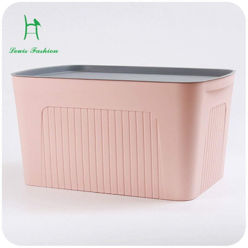 Silent love a large plastic storage box cover books closet storage box toy box finishing underwear-in Storage Boxes u0026 Bins from Home u0026 Garden on ... & Silent love a large plastic storage box cover books closet storage ...